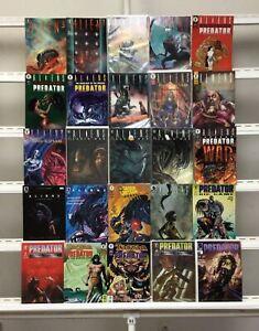 Aliens Predator Dark Horse 25 Lot Comic Book Comics Set Run Collection Box