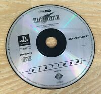 PLAYSTATION 1 GAME,PS1/PS2,FINAL FANTASY VII/7,DISC 2 OF 3 ONLY,FREE UK P+P.