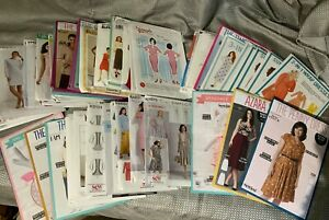 Sewing Patterns McCall newlook simplicity plus others skirts dresses tops Bags