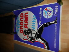 1976 Toronto Blue Jays Grand Slam Promo Poster Texaco Oil