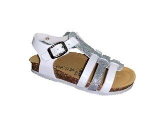 BIOCHIC 4465R Sandals Girl's Shoes Bio Natural Italian Style