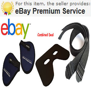 1 Pair,Foot Straps, Seat Pad & Gripmasters For all Concept 2,Free Rapid Delivery