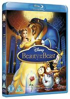 Beauty and the Beast Blu-ray Animated Disney Cartoon Movie 1991 Classic Film