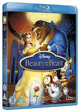 Beauty and the Beast Blu-ray Animated Disney Cartoon Movie 1991 Classic Film