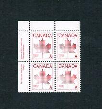 1981  # 907  PB 1 - UL VFNH  TIMBRES CANADA  MAPLE LEAF NON-DENOMINATED. DA18