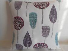 "'FOREST' TREE DESIGN CUSHION COVER 16""/41cm Lilac,Purple,Black,White,Duckegg"