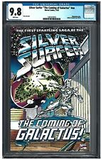 """SILVER SURFER """"THE COMING OF GALACTUS"""" #NN CGC 9.8 (11/92) Marvel Comics"""