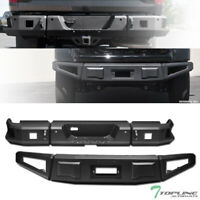 Topline For 2014-2019 Toyota Tundra RT Style Modular Front+Rear Bumper - Black
