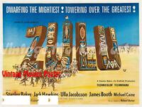 Zulu 1964 Repro Reproduction Print UK Poster