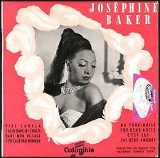 """JOSEPHINE BAKER - SIGNED France 10"""" / 25 cm Columbia 33 FS 1023"""