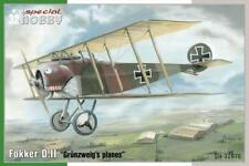 """SPECIAL HOBBY 32076 Fokker D.II """"Grünzweig´s Planes"""" in 1:32 LIMITED!"""