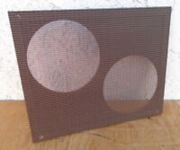 "FENDER TWEED SUPER 2x10"" SPEAKER BAFFLE BOARD NICE CLOTH COMBO GUITAR AMPLIFIER"