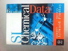 SI Chemical Data, 6th Edition (2008), By G. Aylward & T. Findlay.