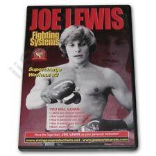 Joe Lewis Contact Karate Advanced Fighting Supercharge Workout 2 #12 Dvd Jl12