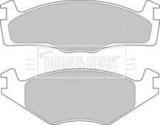 Borg & Beck Bremsklötze Set für Scheibenbremsen Beläge Bbp1531 - Original -