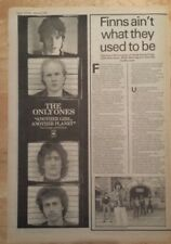 Only ones another girl planet 1978 press advert half page 13 x 38 cmposter