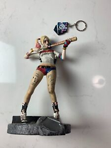 DC Suicide Squad Harley Quinn Finders Keypers Statue Keychain