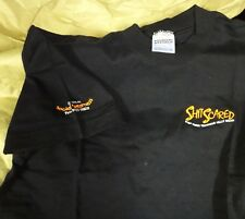 T shirt limited edition, Shlt Scared - Stay Home Watching Telly Wear embroidered
