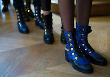 Christian Louboutin Combat Boots Paris Haute Couture Spring/Summer 2016 40  New