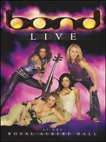 BOND - LIVE AT THE ROYAL ALBERT HALL DVD ~ CLASSICAL POP STRING QUARTET *NEW*