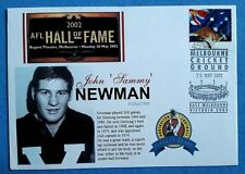 AFL HALL OF FAME 2002 JOHN SAMMY NEWMAN MCG FIRST DAY COVER