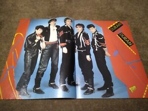 DURAN DURAN CENTERFOLD CLIPPING POSTER FROM MAGAZINE 80'S JOHN TAYLOR