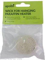 Pack of 2 wicks for greenhouse hanging heater - fits apollo & parasene warmlite