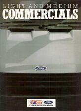 Ford Fiesta Van Escort Van Combi P100 Transit 1986-87 UK Market Sales Brochure