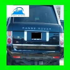 03-13 RANGE ROVER SPORT HSE CHROME TRUNK TAILGATE TRIM MOLDING 04 05 06 07 08 09