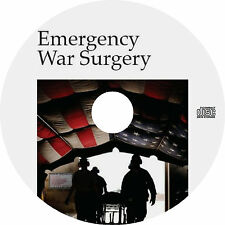 Emergency War Surgery (2013, 4th Edition) Medical Reference Book on CD