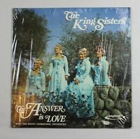 The King Sisters, The Answer is Love, Ralph Carmichael Orch, Vinyl LP