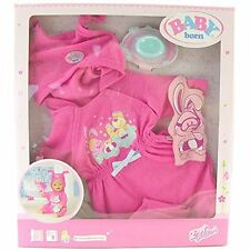 Zapf Creation BABY Born - Deluxe Bath Time Set - Robe, Soap and Wash Mitt