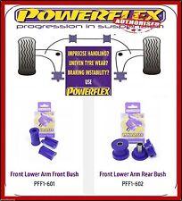 Powerflex Front Lower Arm Bush Kit PFF1-601/602 For Alfa Romeo 164 V6 & Ts