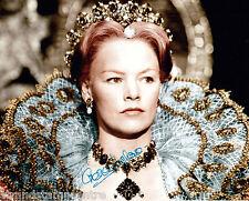 "Glenda Jackson - Colour 10""x 8"" Signed 'Queen Elizabeth I' Photo - UACC RD223"
