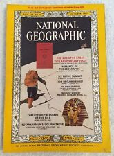 National Geographic Magazine October 1963 Everest Six To The Summit No Map