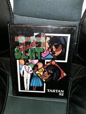 1992 GRANADA HILLS HIGH SCHOOL Yearbook Tartan California Hardcover Original