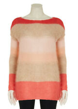 Esprit Multi-Coloured Mohair Knit Jumper size Large Bnwt
