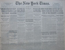 2-1931 FEBRUARY 17 SOUTHERN SENATORS WARN PARTY WETS. PROHIBITION. SPAIN PREMIER