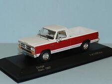 White Box 1/43 1987 Dodge Ram White/Red MiB