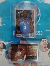 2009-2010 PANINI NBA INVEST LOT(2) JAMES HARDEN RARE ROOKIE RC METAL STICKER 📈
