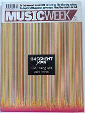 MUSIC WEEK MAGAZINE   12  MARCH 2005  PURE REASON REVOLUTION       LS