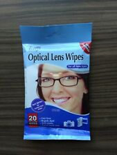 4 x 20 Optical Lens Wipes for all lens types  £3.20  80 wipes