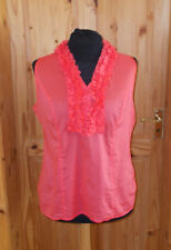 GAP coral pink-orange sleeveless camisole vest tunic top blouse XL 16-18 44-46
