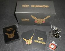 XY Generations ELITE TRAINER 20th Anniversary Black Box Contents: Sleeve Pokemon