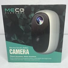 Meco Eleverde Wire Free Security Battery Camera - New Open Box