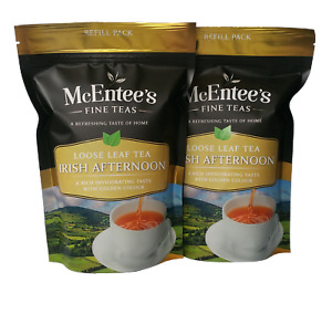 McEntee's Irish Afternoon Tea - VALUE pack 2 x 250g Bag  - BLENDED IN IRELAND