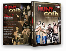 Official ROH Ring of Honor The Hunt for Gold 2013 Event DVD