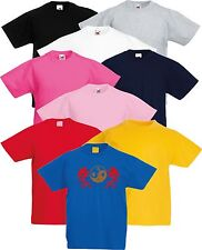 Taekwondo Kinder Yin Yang Drachen Kampfsport T-Shirt