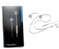 OEM BlackBerry Premium Headset, 3.5mm for Smartphones and Tablets - White