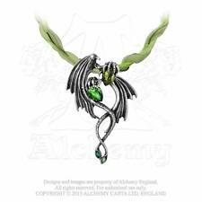 Drachen Dragon Magie Gothic Drachenflügel Amulett Anhänger Drache ALCHEMY P676